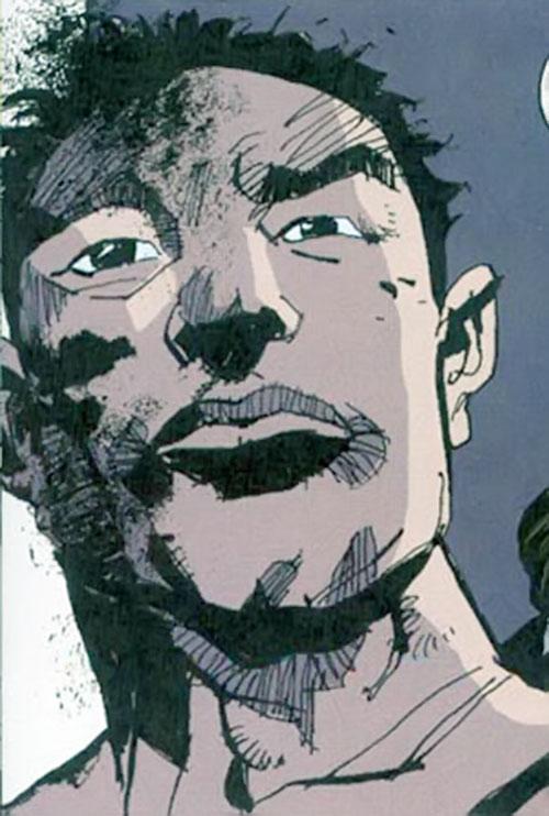 Cedric (Fight for Tomorrow) (DC Comics) face closeup