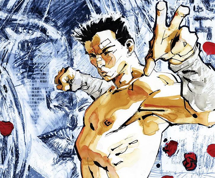 Cedric - Fight for Tomorrow - DC Comics - Jim Lee cover