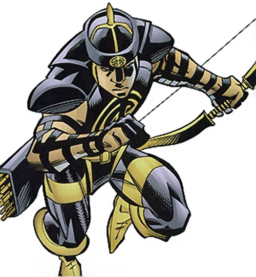 Celestial Archer of the Great 10 (DC Comics) running