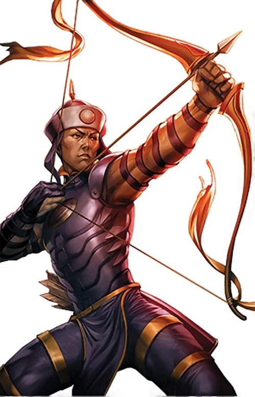 Celestial Archer of the Great 10 (DC Comics)
