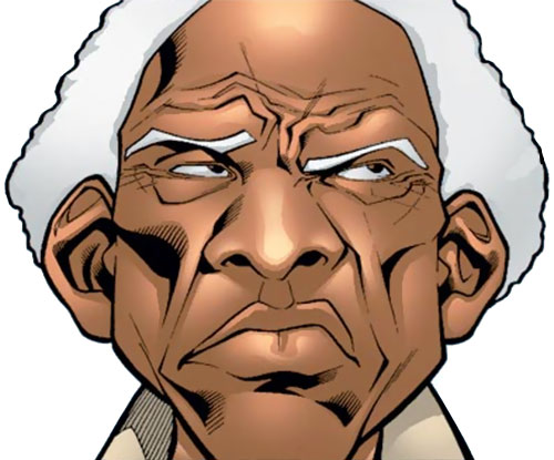 Centennial of Alpha Flight (Marvel Comics) skeptical face closeup
