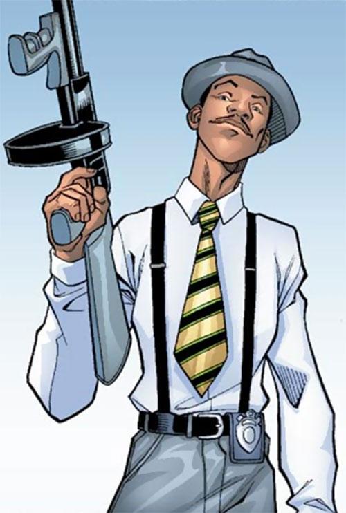 Centennial of Alpha Flight (Marvel Comics) during his prime as a cop