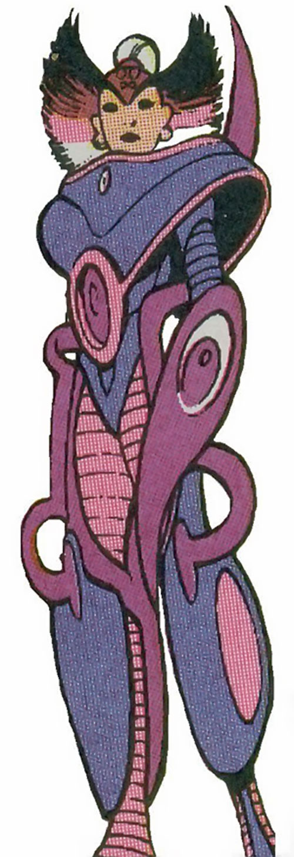 Cerise of Excalibur (Marvel Comics) in a hardsuit