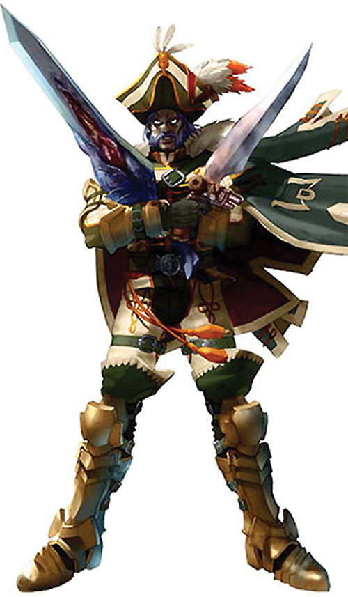 Cervantes de Leon (Soul Calibur) with 2 swords