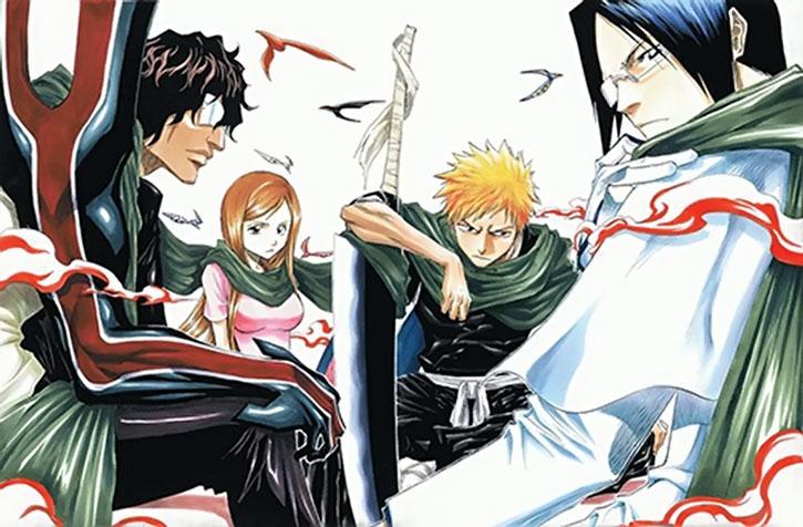"""Yasutora """"Chad"""" Sato and the gang"""