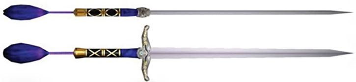 Chai Xanghua's fencing sword