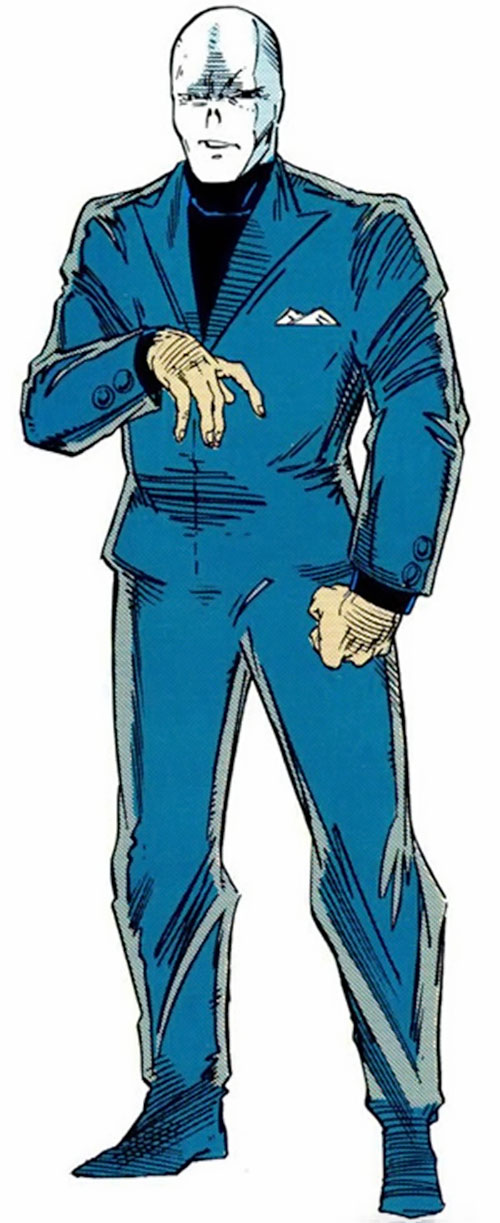 The Chameleon (Spider-Man enemy) (Marvel Comics) from the handbook