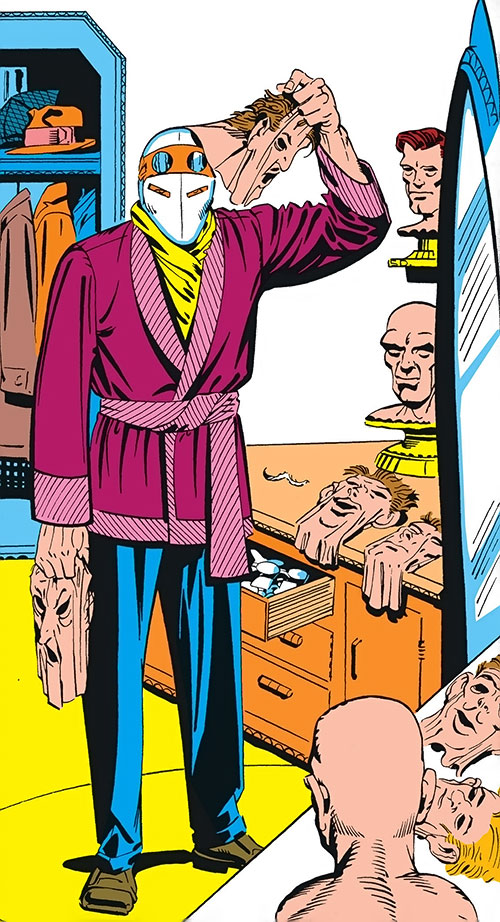 The Chameleon (Spider-Man enemy) (Marvel Comics) by Ditko