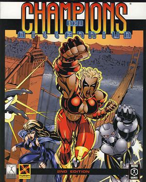 Champions New Millenium - Fuzion RPG - Cover