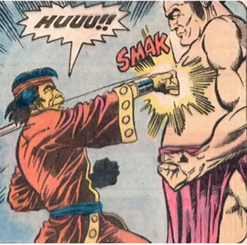 Chankar (Master of Kung Fu enemy) (Marvel Comics) vs. Shang Chi