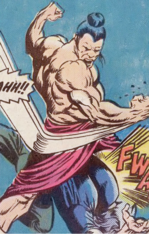 Chankar (Master of Kung Fu enemy) (Marvel Comics)