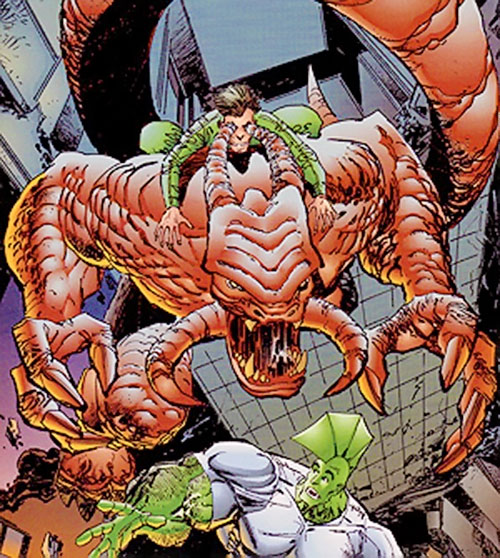 Chaos and Control (Savage Dragon comics) leap on Savage Dragon