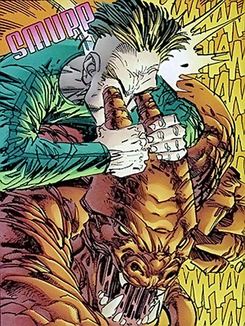Chaos and Control (Savage Dragon comics) interfacing