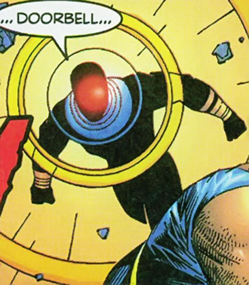 Chaos of Cerebro's X-Men (Marvel Comics) in action