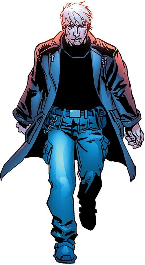 Chaplain Charlie of the Human Defense Corps (DC Comics)