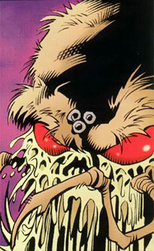 Charaxes (DC Comics) face closeup