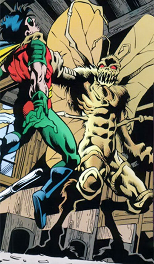 Charaxes (DC Comics) vs. Robin