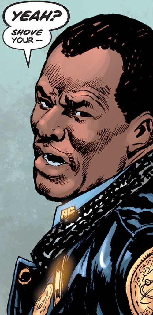 Royal and Charles Williams (Astro City Dark Age) (Vengeance Brothers) police uniform