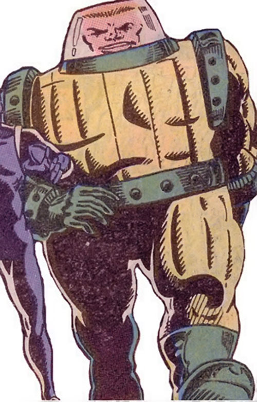 Charlie-27 of the Guardians of the Galaxy (Marvel Comics) in the yellow vacuum suit