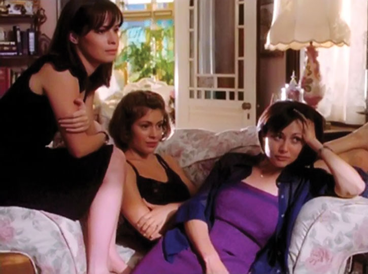 The Halliwell sisters from Charmed