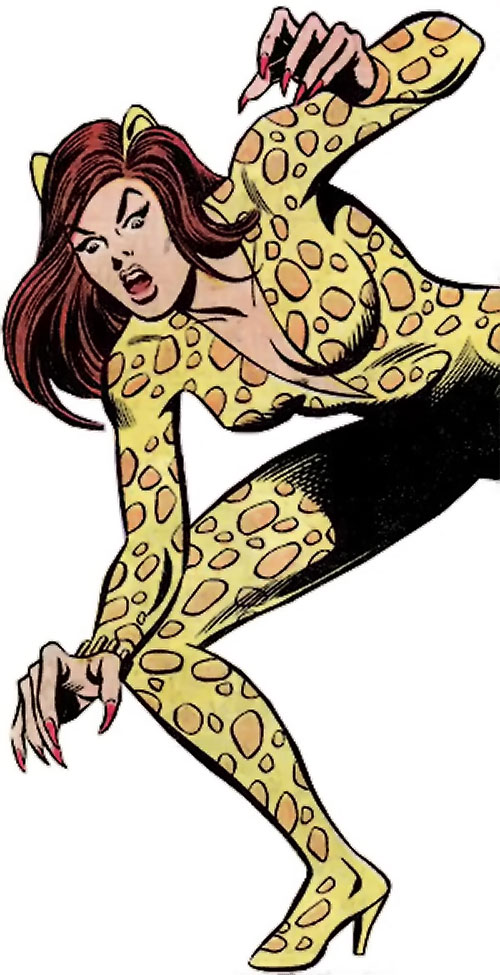 Cheetah (Wonder Woman enemy) (DC Comics) (Domaine)