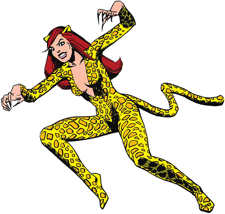 Cheetah (Deborah Domaine) from the Who's Who