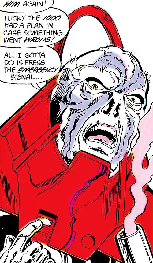 Chiller (Booster Gold enemy) (DC Comics) portrait