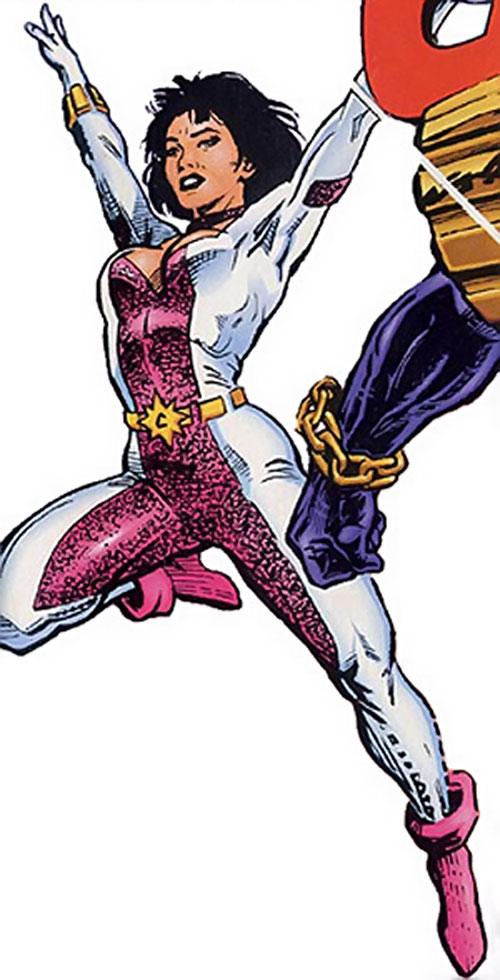 Choice (Hardcase ally) (Ultraverse comics) in flight