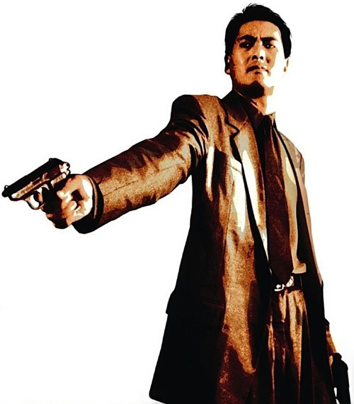 Chow Yun Fat on the Killer poster