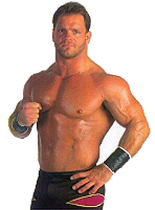 Chris Benoit the Crippler, over a white background