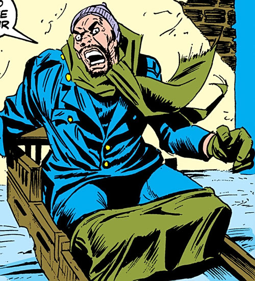Christmas Madman (Luke Cage enemy) (Marvel Comics) present appearance