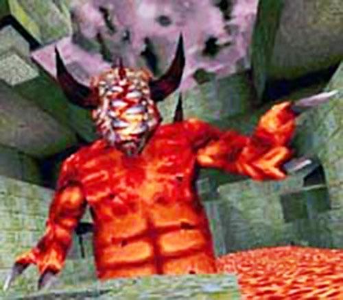 Chthon - Quake video game (1990s) - Monster profile ... Quake Chthon