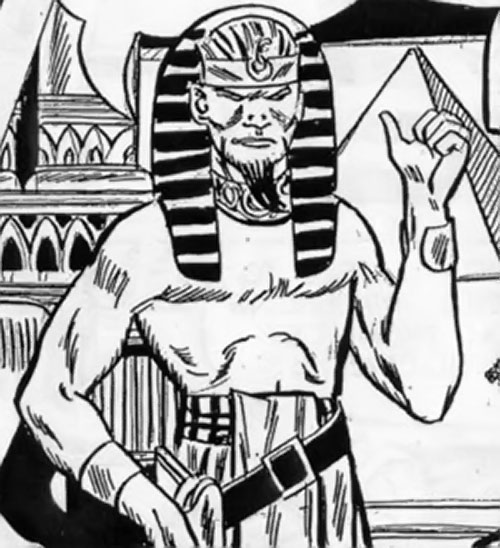 Chufru the Golden Pharaoh (Peacemaker enemy) (Charlton Comics)