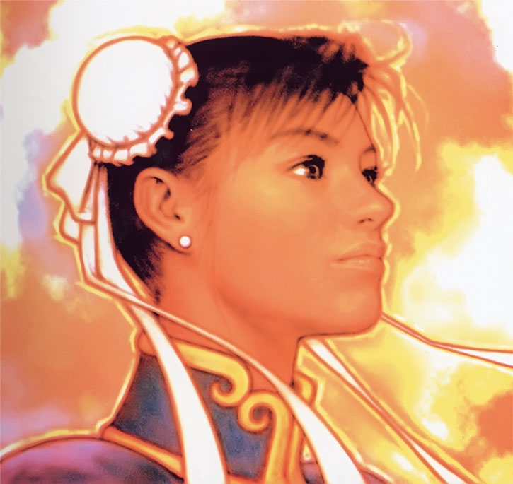 Portrait of Chun Li