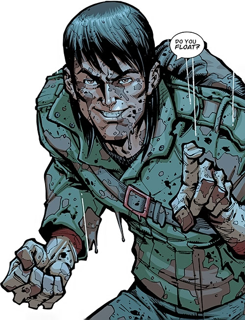 Chupacabra of the Guardians of the Globe (Image Comics Invincible) bloodied grinning
