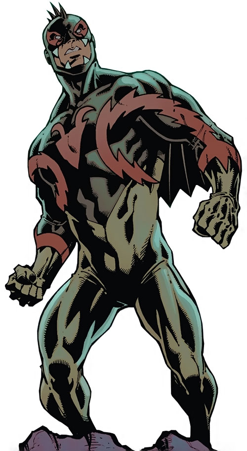Chupacabra of the Guardians of the Globe (Image Comics Invincible) standing tough