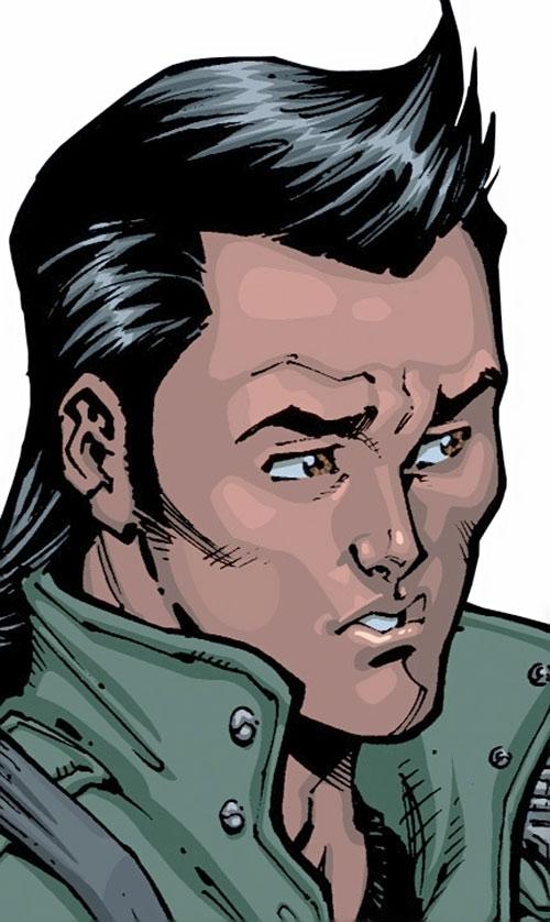 Chupacabra of the Guardians of the Globe (Image Comics Invincible) face closeup