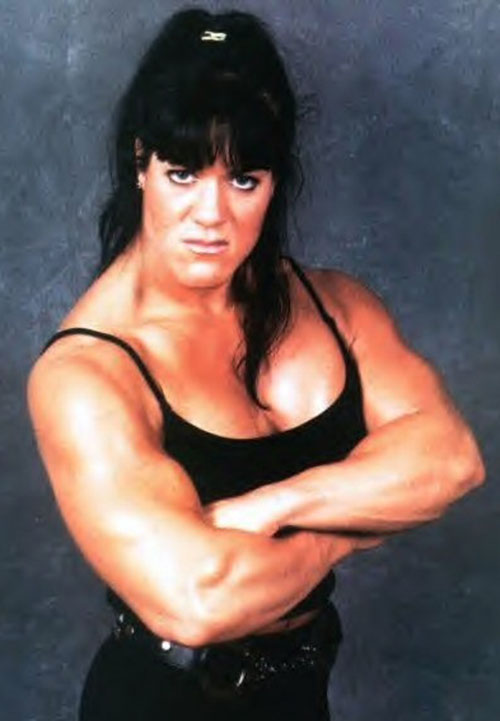 Chyna (wrestler) with her arms crossed