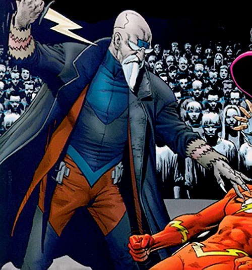 Cicada (Flash enemy) (DC Comics) and his Flash cult