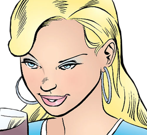Cinderella of the Fables (DC Comics) face closeup