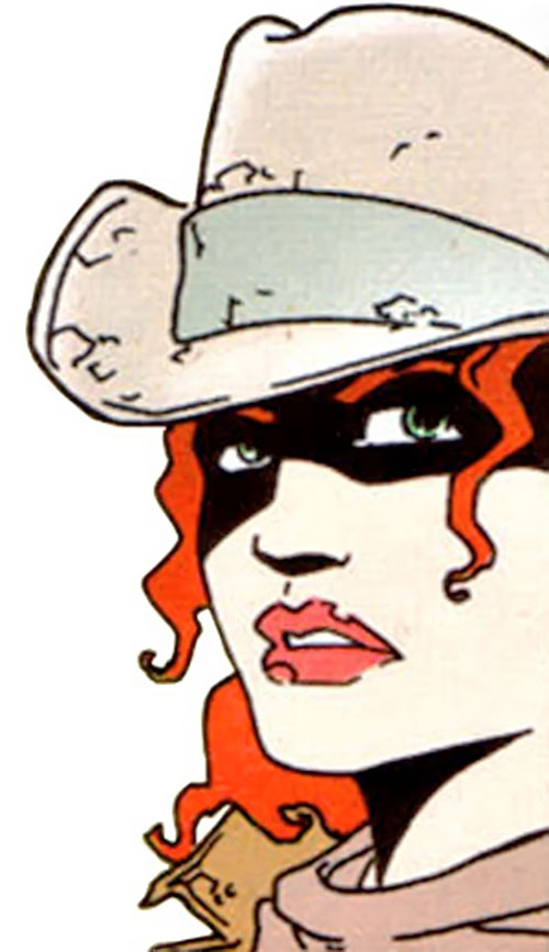 Cinnamon (Jen van Meter version) (DC Comics) face closeup