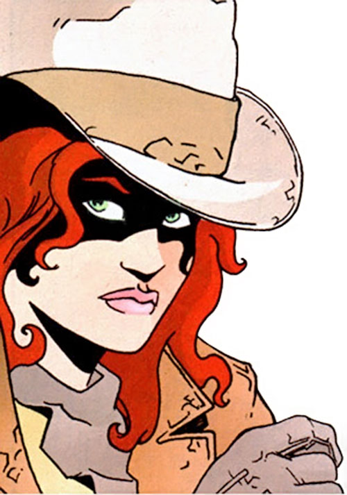 Cinnamon (Jen van Meter version) (DC Comics)