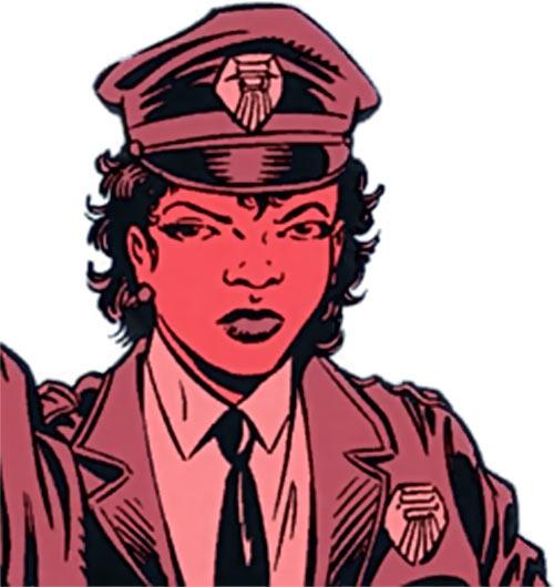Deputy Cissy Chambers - Robin DC Comics