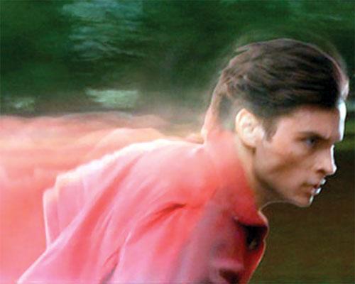 Clark Kent (Tom Welling in Smallville) super-speed run