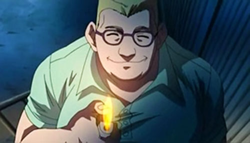 Claude Weaver aka Torch from Black Lagoon