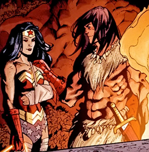 Claw the Unconquered (DC Comics) and Wonder Woman