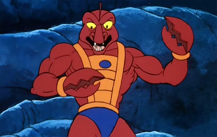 Clawful - Masters of the Universe - Lobster - Front view