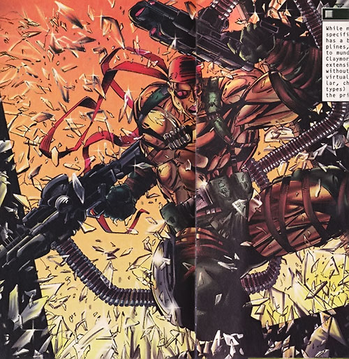 Claymore of Wetworks (Image comics)