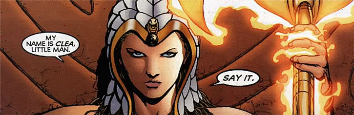 Queen Clea, la perversion de la philosophie de William Moulton Marston. Clea-Wonder-Woman-DC-Comics-say-it-h
