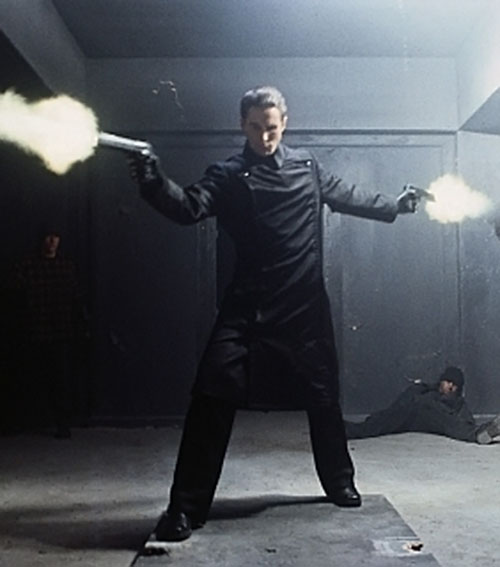 John Preston (Christian Bale in Equilibrium) doing a gun kata